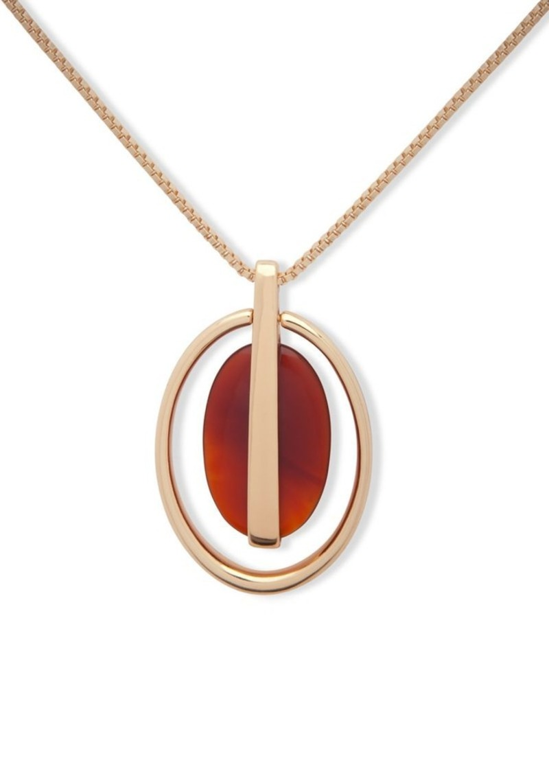 stone gold precious jupiter necklace semi pendant