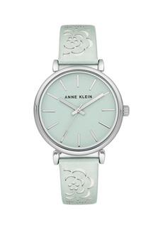 Anne Klein Silvertone Bracelet Watch