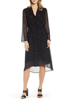Anne Klein Simone Tie Neck High/Low Dress