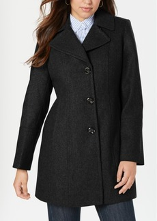Anne Klein Single-Breasted Coat