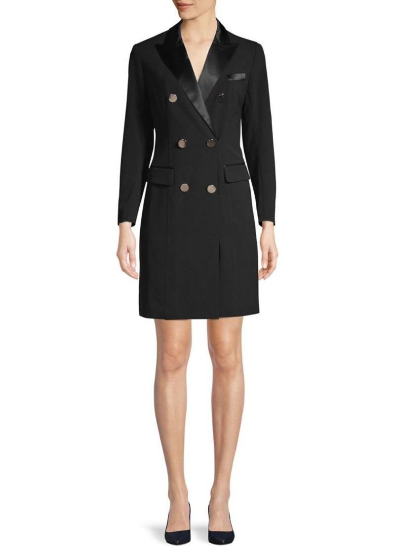 Anne Klein Sleek Double-Breasted Dress