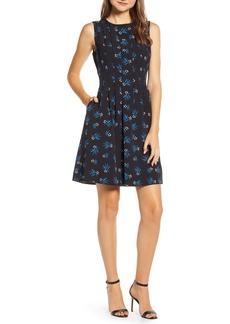 Anne Klein Sleeveless Crepe Dress