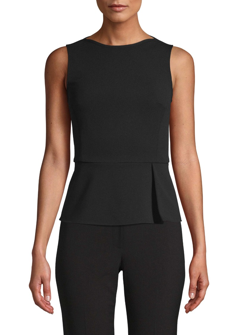 Anne Klein Sleeveless Peplum Top