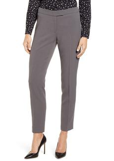 Anne Klein Slim Fit Flat Front Pants