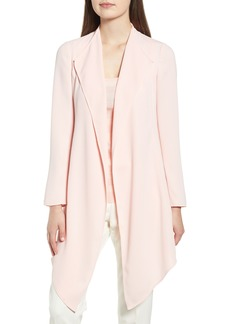 Anne Klein Soft Crepe Waterfall Jacket