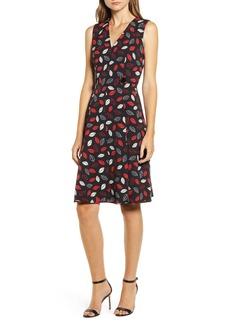 Anne Klein Sonoma Coast Fit & Flare Dress