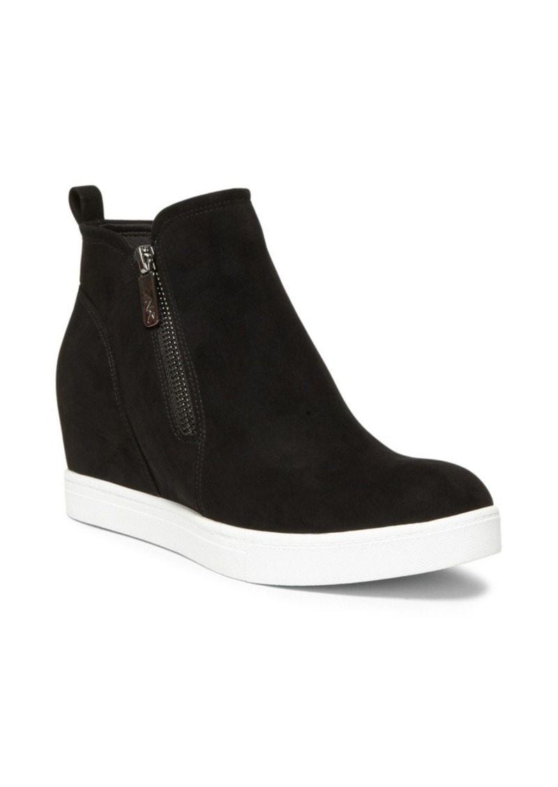 Anne Klein Sport Chance Wedge Zip Up Sneakers