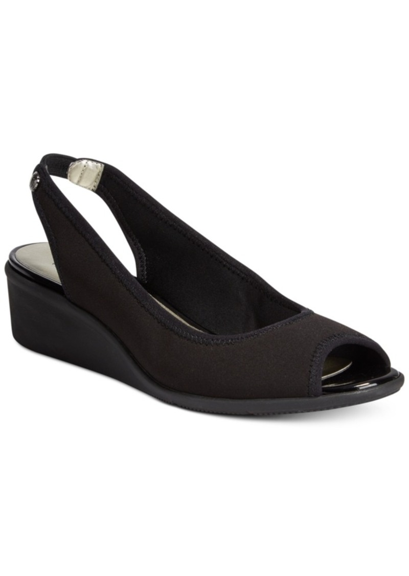 Anne Klein Peep Toe Shoes