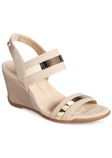 Anne Klein Sport Lucy May Wedge Sandals