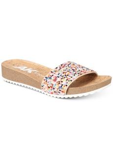Anne Klein Sport Qtee Wedge Slip-On Sandals