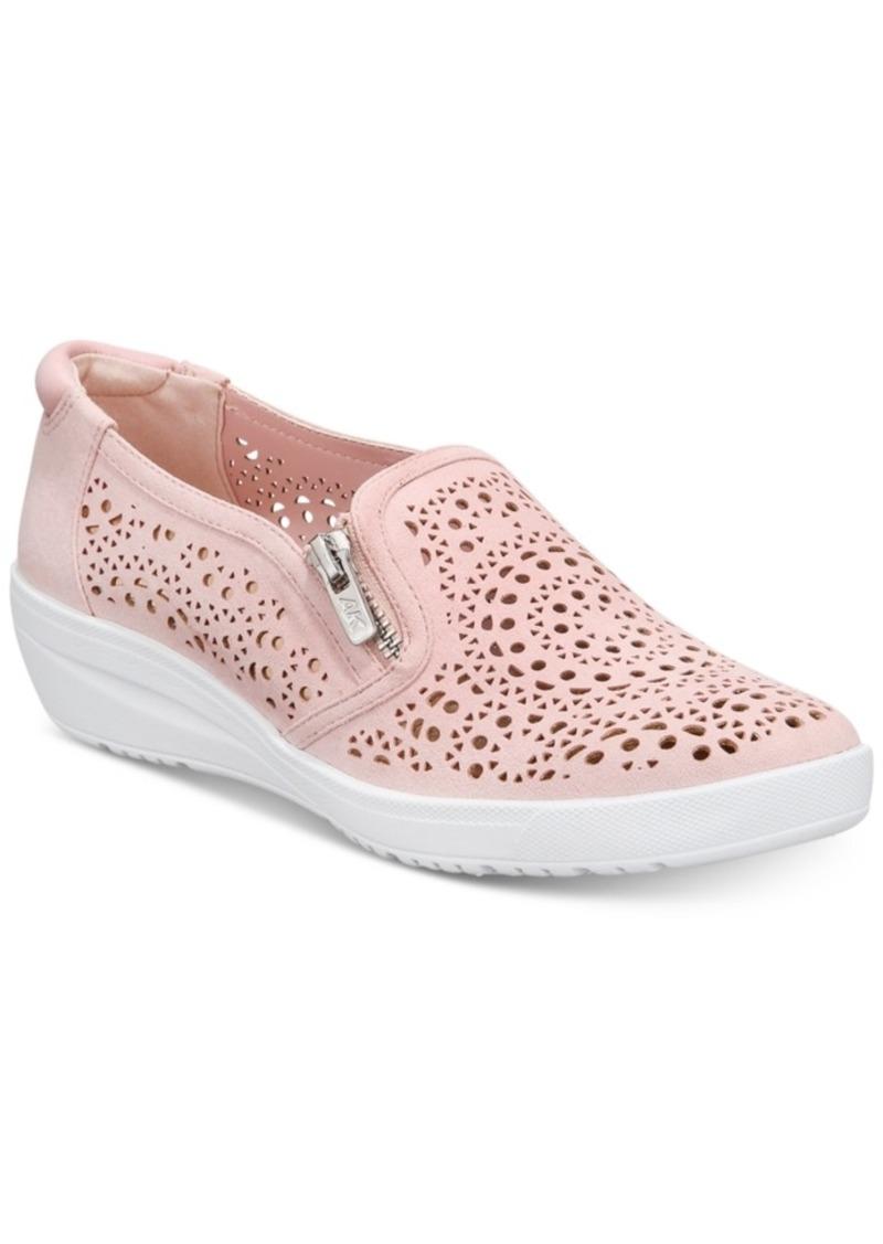 Anne Klein Sport Yvette Perforated Slip-On Sneakers