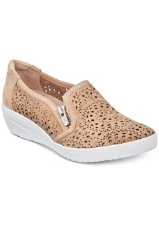 Anne Klein Sport Yvette Perforated Slip-On Sneakers