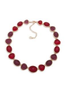Anne Klein Stone Link Collar Necklace