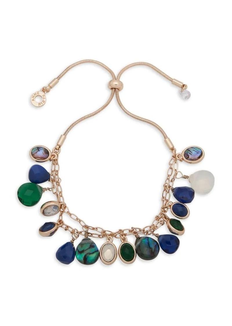 Anne Klein Stone Slider Bracelet