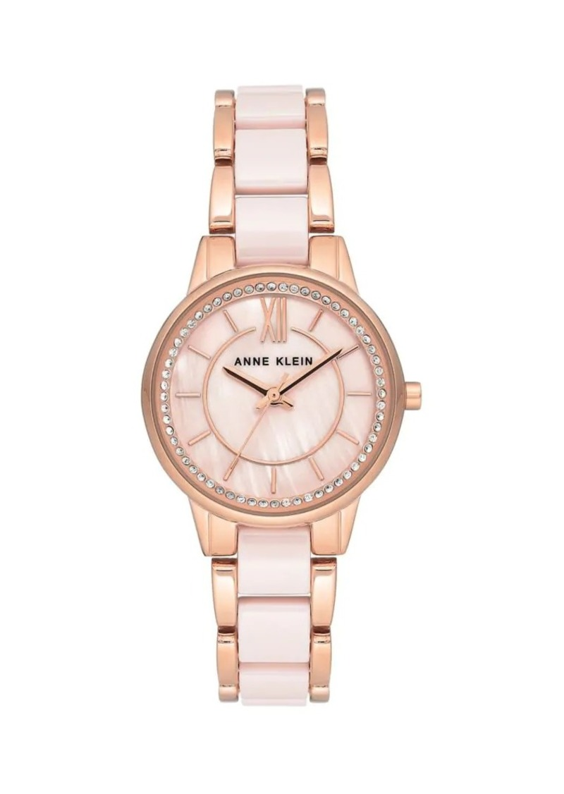 Anne Klein Swarovski Crystal Bracelet Watch