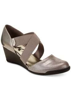 Anne Klein Teaberry Wedge Pumps