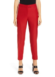 Anne Klein Textured Stretch Twill Slim Trousers