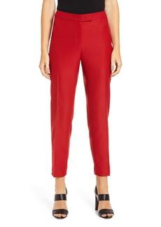 Anne Klein Textured Stretch Twill Slim Trousers
