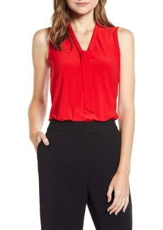 Anne Klein Tie Neck Blouse