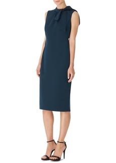Anne Klein Tie-Neck Sheath Dress