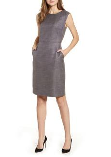 Anne Klein Tweed Sheath Dress