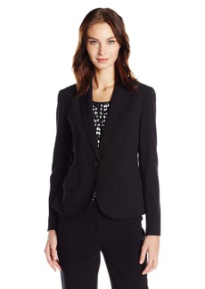 Anne Klein Women's 1 Button Jacket