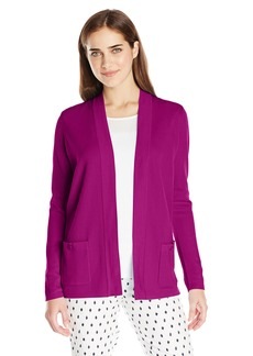 Anne Klein Women's 2 Pocket Malibu Cardigan  L