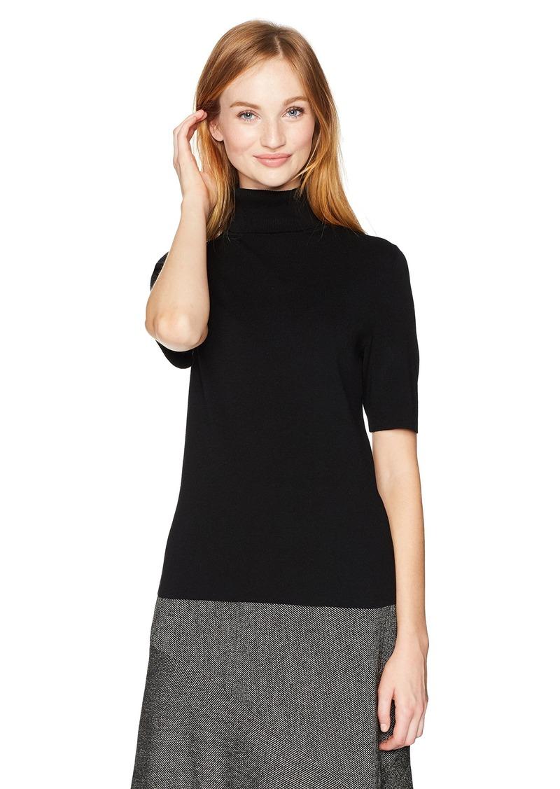 a206db8dfb0 Anne Klein Anne Klein Women s 3 4 Sleeve Turtleneck Sweater S