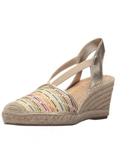 Anne Klein Women's Abbey Espadrille Wedge Sandal