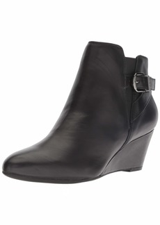 Anne Klein Women's Admina Wedge Bootie Ankle Boot