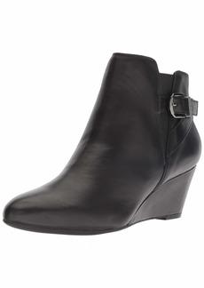 Anne Klein Women's Admina Wedge Bootie Ankle Boot