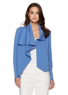 Anne Klein Women's Asymetric Drape Front Jacket