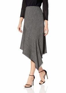 Anne Klein Women's Asymmetric Ruffle Skirt