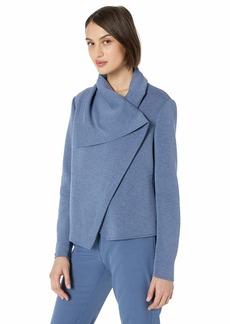 Anne Klein Women's Asymmetrical Front Jacket  XL