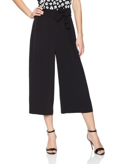 Anne Klein Women's Belted Cropped Trouser  M