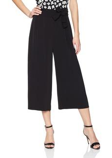 Anne Klein Women's Belted Cropped Trouser  XL