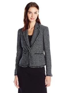 Anne Klein Women's Boucle Tweed Jacket