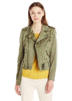 Anne Klein Women's Camouflage Goddard Jacket