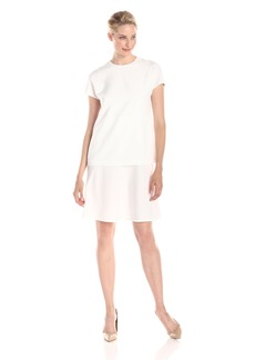 Anne Klein Women's Cap Sleeve Popover Dress