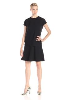 Anne Klein Women's Cap Sleeve Popover Dress
