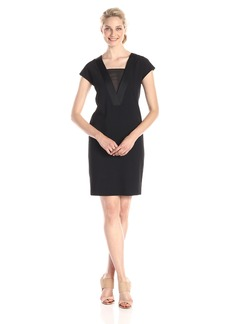 Anne Klein Women's Cap Sleeve Shift Dress