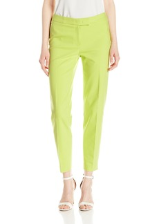 Anne Klein Women's Cotton Double Weave Pant Sprout