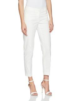 Anne Klein Women's Cotton Pique Slim Pant