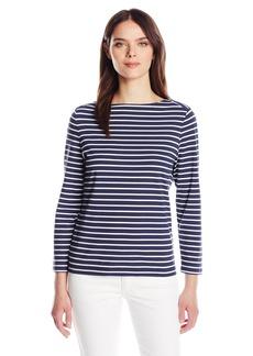 Anne Klein Women's Cotton Stripe Top  S