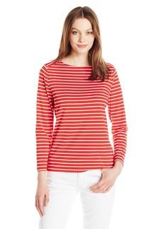 Anne Klein Women's Cotton Stripe Top  XL