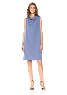 Anne Klein Women's Cowl Neck Sheath Dress  XL