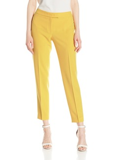 Anne Klein Women's Crepe Extended Tab Bowie Pant