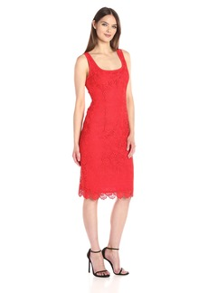 Anne Klein Women's Crochet Lace Sheath Dress