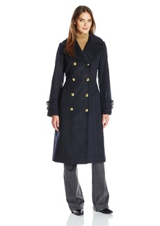 Anne Klein Women's Db Military Coat