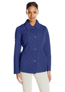 Anne Klein Women's Diamond Quilted Jacket
